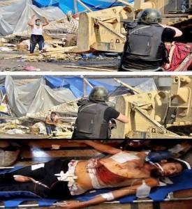 الشرطة المصرية تقتل اعزل