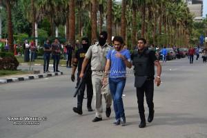 اعتقال طالب من داخل الحرم الجامعى