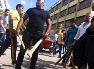 الأمن بجامعة المنصورة